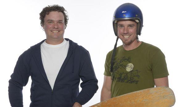 Brojects - zwei Brüder bauen um: Kevin (r.) und Andrew (l.) sind keine Profis...