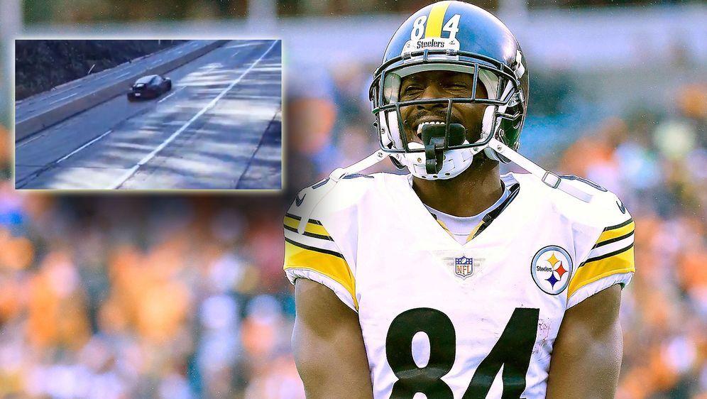 Drückt nicht auf dem Feld auf die Tube: Antonio Brown wurde in Pittsburgh we... - Bildquelle: Getty Images
