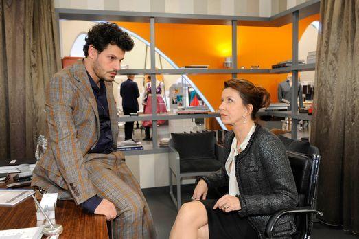 Anna und die Liebe - Kann Luca (Manuel Cortez, l.) noch etwas für Nina tun, n...