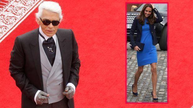 """Herzogin Kate Middleton inspiriert Karl Lagerfeld: """"Chanel"""" zeigt W..."""