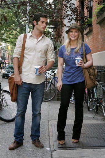 Hillary Duff bei Gossip Girl - Dan's Freundin? - Bildquelle: Warner Bros.