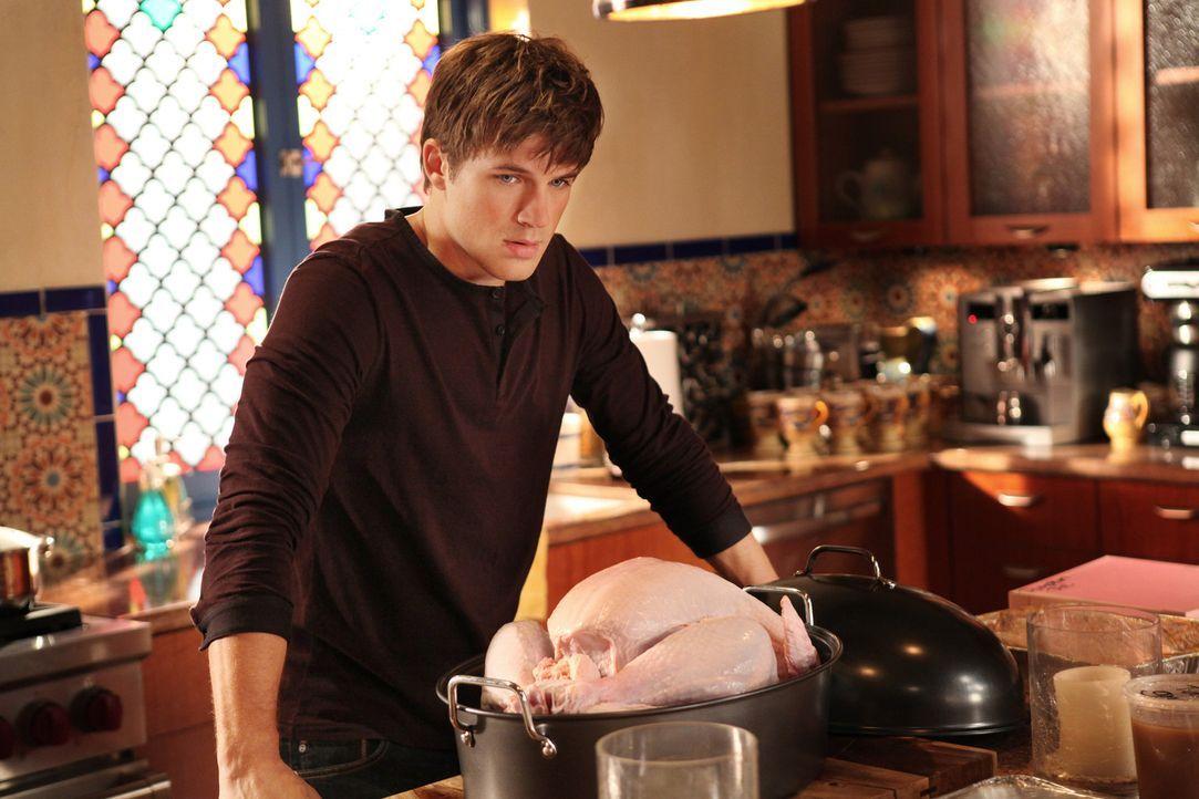 Da Liam Court (Matt Lanter) in seiner Kindheit nur unglückliche Familienfeiertage verbracht hatte, lädt er alle seine Freunde zu einem Thanksgivin... - Bildquelle: 2011 The CW Network. All Rights Reserved.