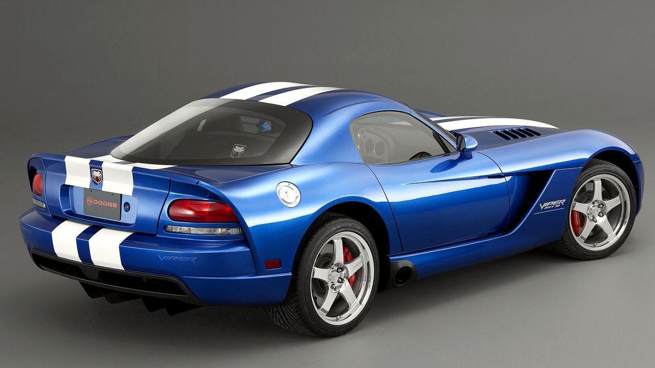 Dodge Viper SRT-10 - Bildquelle: dpa