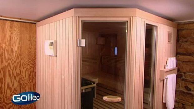 galileo video sauna zum selber bauen prosieben. Black Bedroom Furniture Sets. Home Design Ideas