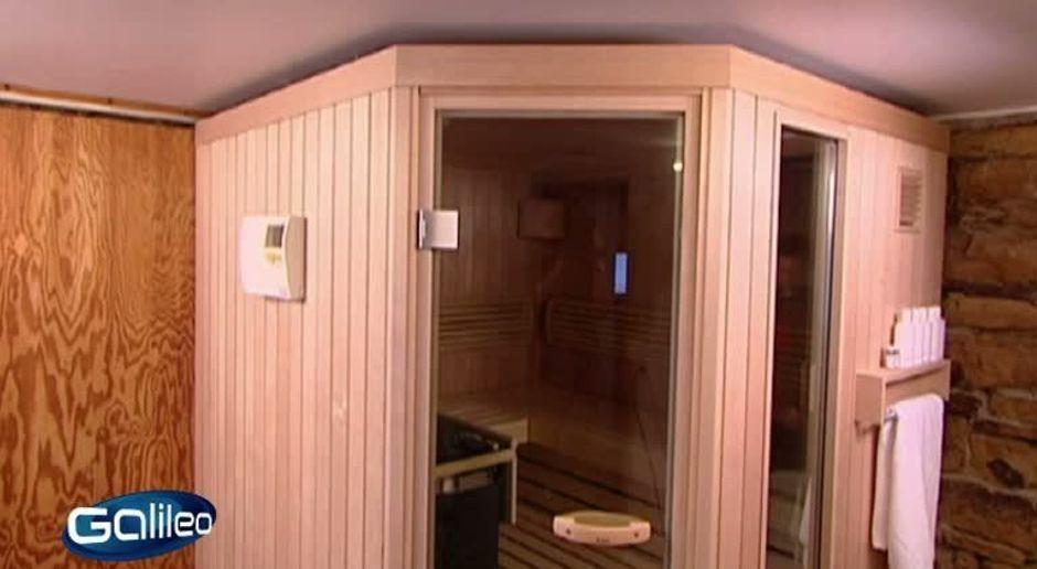 Galileo Video Sauna Zum Selber Bauen Prosieben