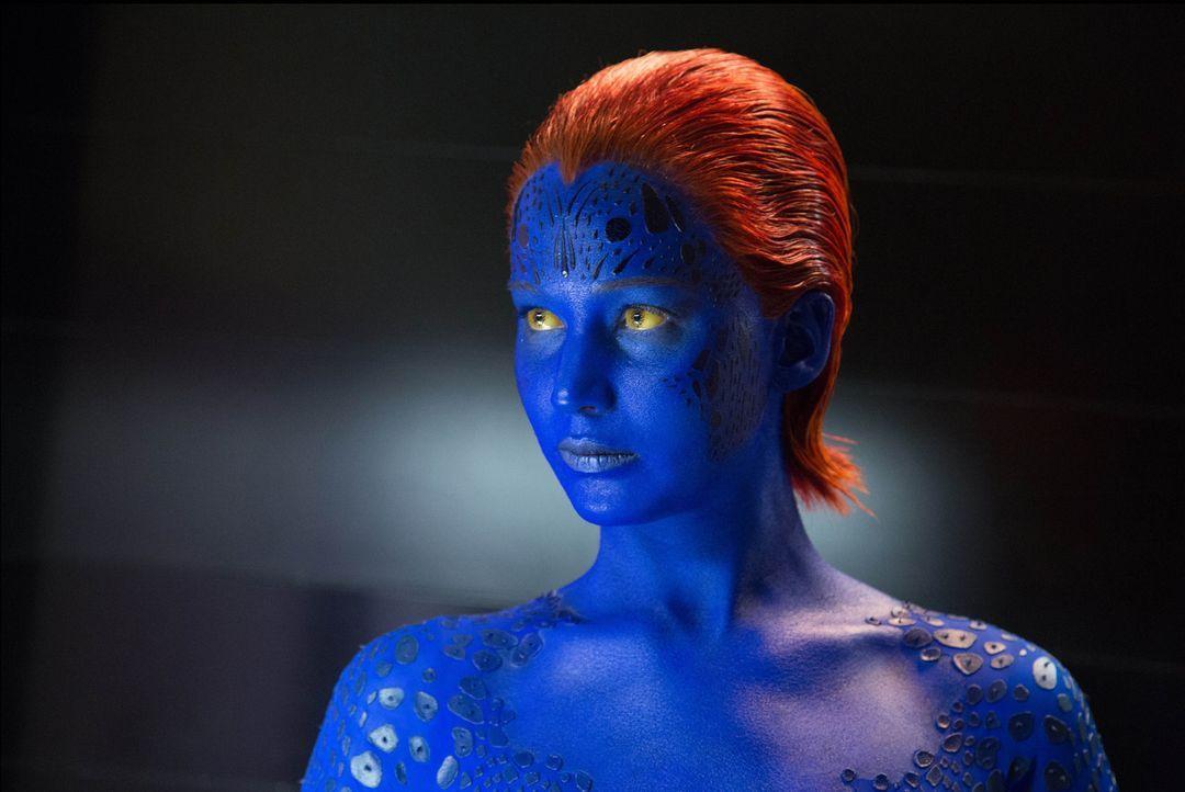 Ihr Blut wird in der Zukunft dafür verwendet, Mutanten auszulöschen: Mystique (Jennifer Lawrence) ... - Bildquelle: Alan Markfield 2013 Twentieth Century Fox Film Corporation.  All rights reserved.  Not for sale or duplication.