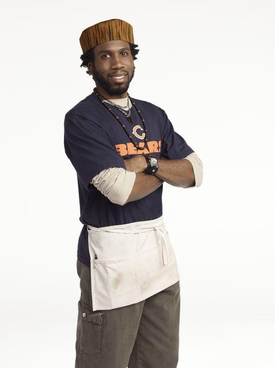 (1. Staffel) - Der Schnellrestaurant-Besitzers Samuel (Nyambi Nyambi) hat immer einen lockeren Spruch auf den Lippen ... - Bildquelle: 2010 CBS Broadcasting Inc. All Rights Reserved.