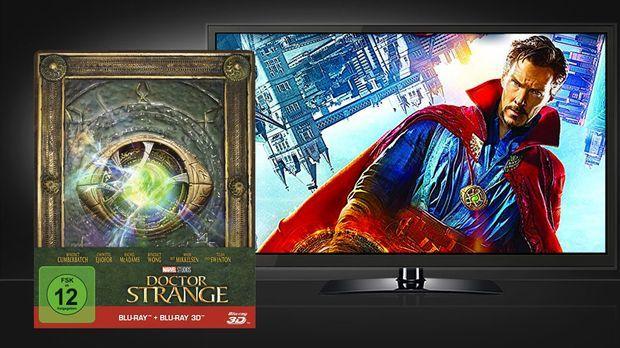 Doktor Strange 3D Blu-ray und Szene © Walt Disney Studios Home Entertainment