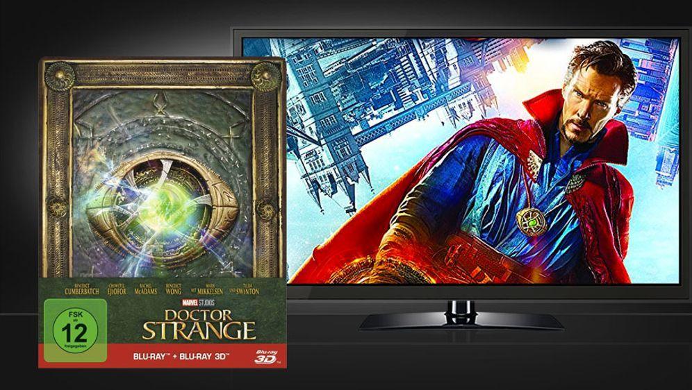Doctor Strange 3D Blu-ray (Limited Steelbook Edition) - Bildquelle: Walt Disney Studios Home Entertainment