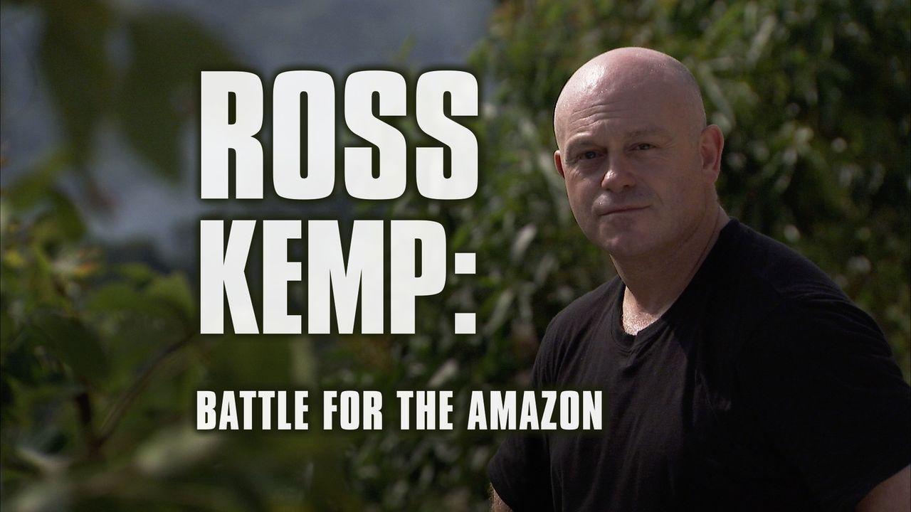 Ross Kemp: Battle for Amazon - Plakat - Bildquelle: Tiger Aspect Productions 2010