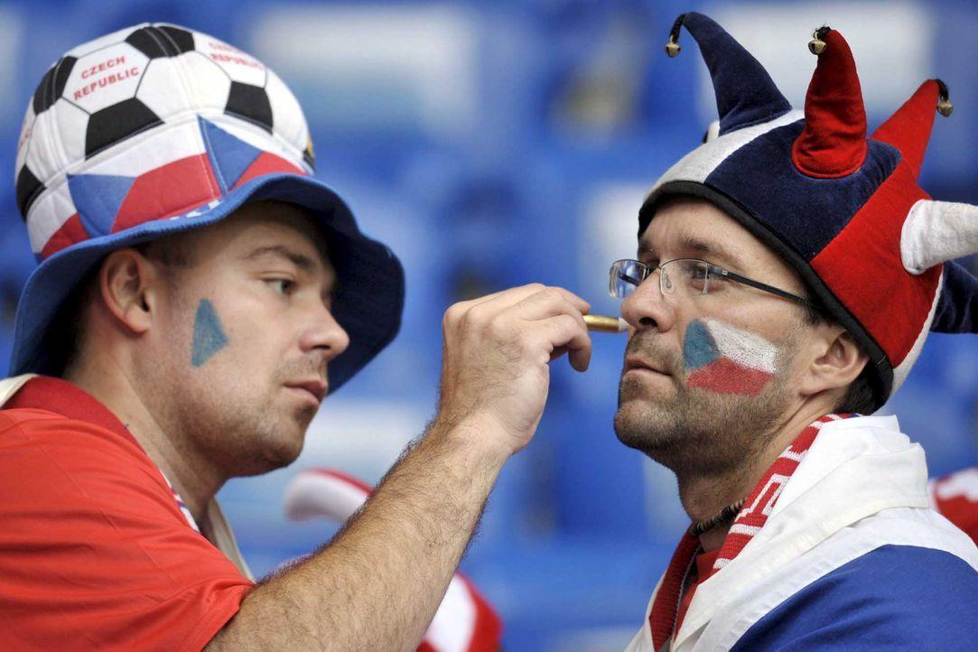 Fußball-Fan-Tschechien-080607-dpa - Bildquelle: dpa