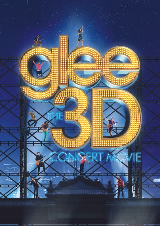 GLEE ON TOUR - DER 3D FILM - Artwork - Bildquelle: TM and   2011 Twentieth Century Fox Film Corporation.  All rights reserved.