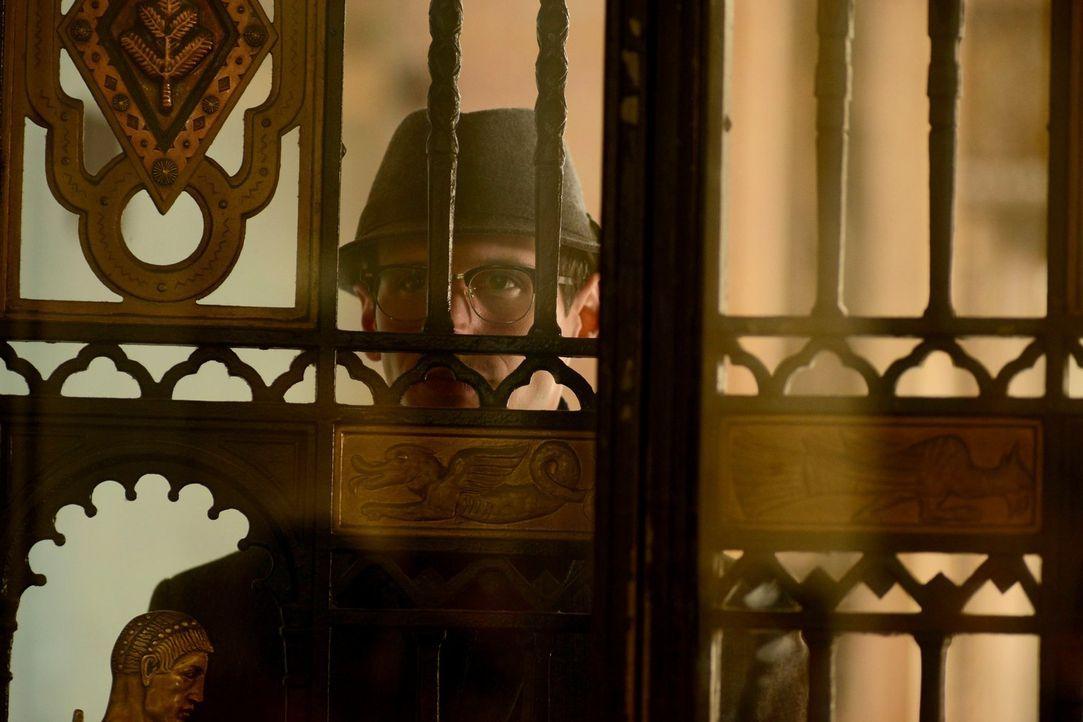 Setzt seinen Plan, Gordon aus dem Weg zu räumen, in Gang: Nygma (Cory Michael Smith) ... - Bildquelle: Warner Brothers