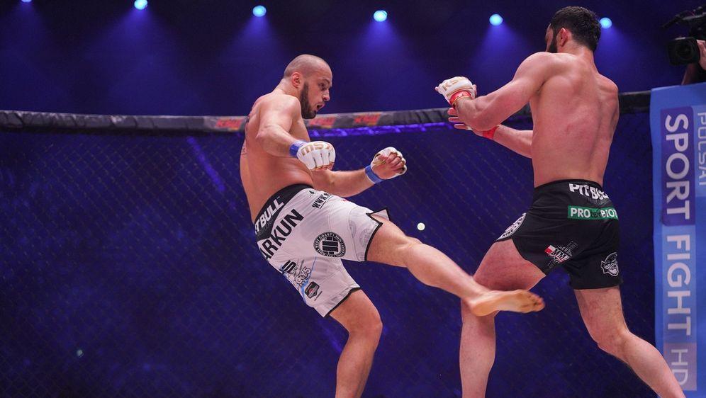 Tomasz Narkun (li.) wies Mamed Khalidov zum zweiten Mal in die Schranken - Bildquelle: KSW MMA