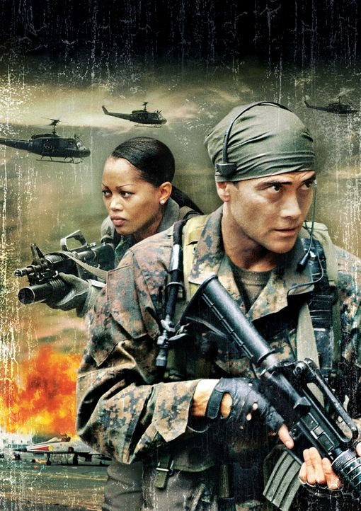 Die JAGD AUF EAGLE ONE: CRASH POINT -mit Mark Dacascos, r. und Theresa Randle, l. - Bildquelle: 2006 The Pacific Trust. All Rights Reserved.
