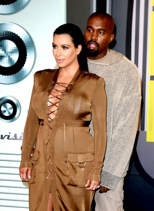 MTV-VMAs-150830-21-Kim-Kardashian-Kanye-West-getty-AFP - Bildquelle: MARK RALSTON / AFP