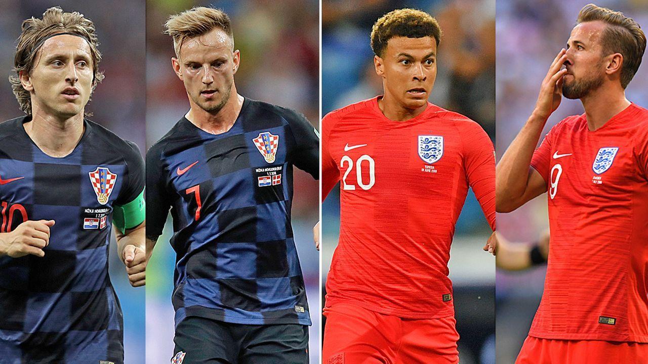 Kroatien Vs England