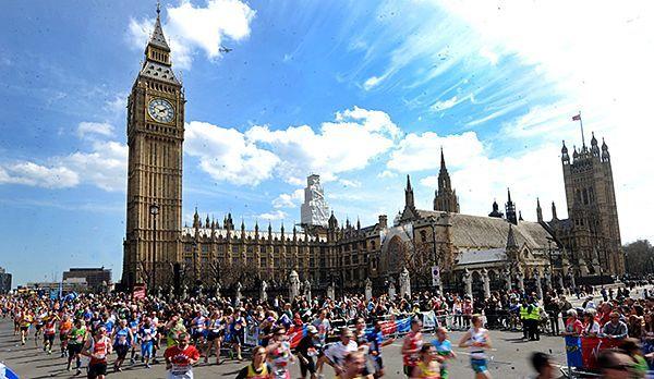 London Marathon - Bildquelle: dpa
