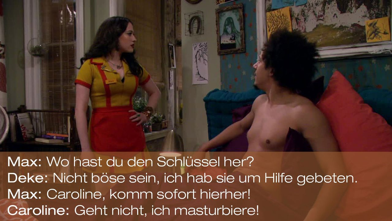 2-Broke-Girls---0316--Zitat-04 - Bildquelle: Warner Brothers