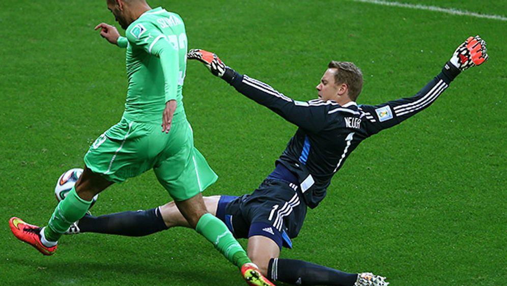 """Manuel Neuer macht den """"Libero"""" - Bildquelle: 2014 Getty Images"""