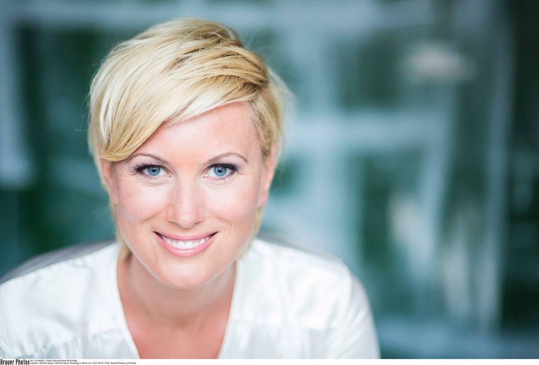 Moderatorin Kamilla Senjo - Bildquelle: Markus Nass SAT.1/BrauerPhotos