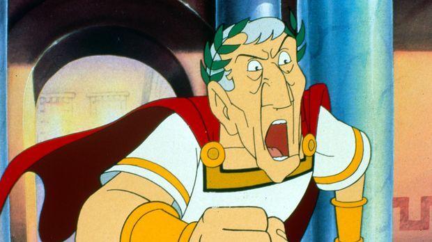 Asterix in Amerika - Julius Cäsar ist außer sich. Er will den unbesiegbaren G...