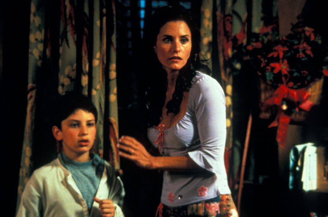 Seit Jahren leben Jesse (David Kaye, l.) und seine Mutter Cybil (Courteney Cox, r.) in ziemlich einfachen Verhältnissen. Da ergibt sich die einmalig... - Bildquelle: Francise Pictures