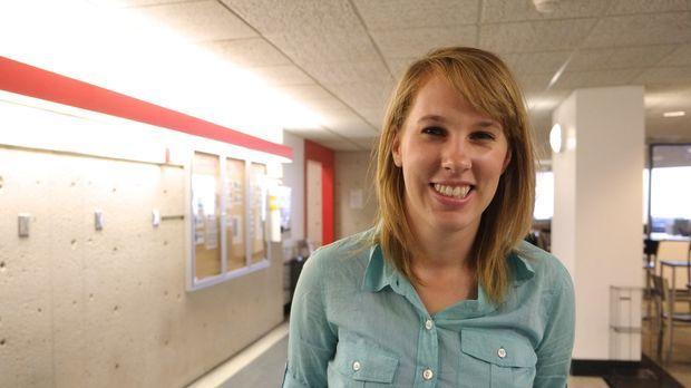 Kelly Hickman (Foto) und andere Jurastudenten der