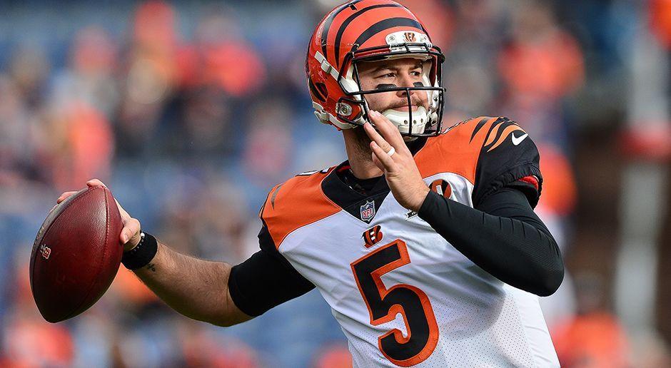 AJ McCarron (Buffalo Bills) - Bildquelle: 2017 Getty Images