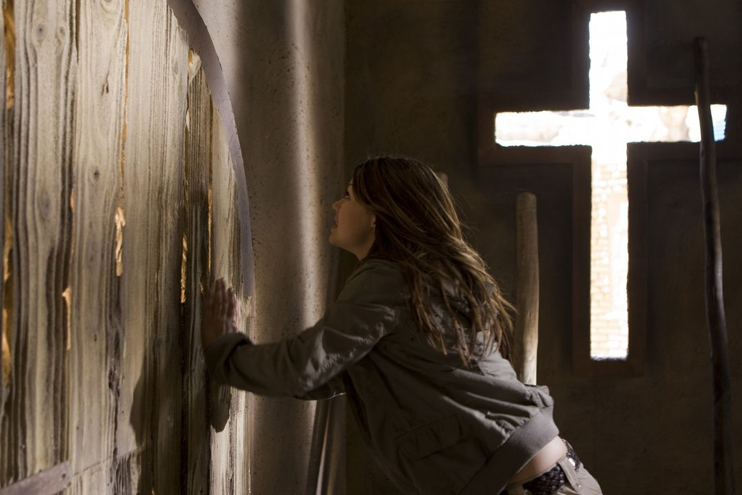 Ihr bleibt nicht mehr viel Zeit, die Menschheit vor verblendeten und machtgierigen dunklen Mächten innerhalb der Kirche zu schützen: Johanna (Cosm... - Bildquelle: ProSieben