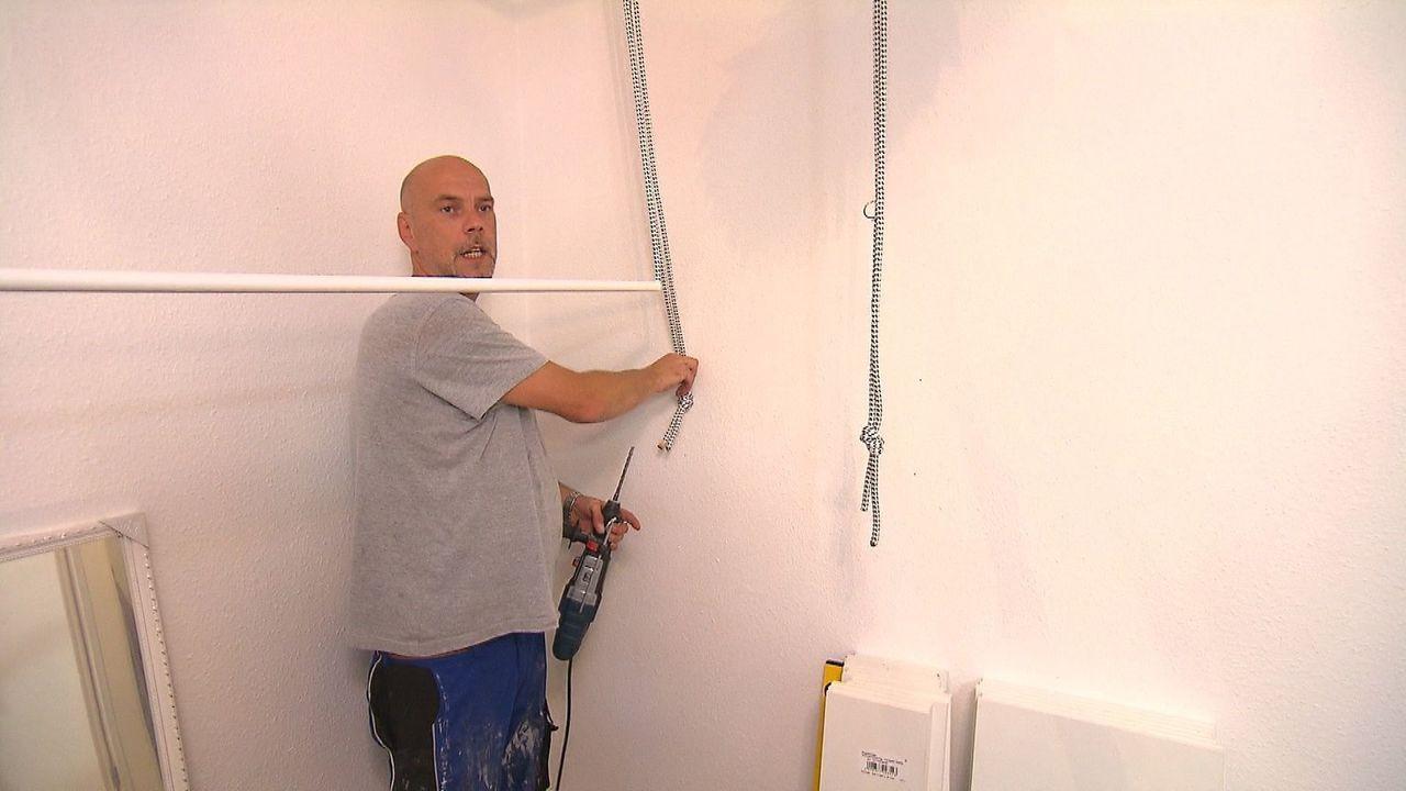 Die Hobby-Heimwerker wollen ihre Expertise unter Beweis stellen. Auch wenn am Ende der Woche nur einer die 2500 Euro Siegerprämie nach Hause nehmen... - Bildquelle: SAT.1