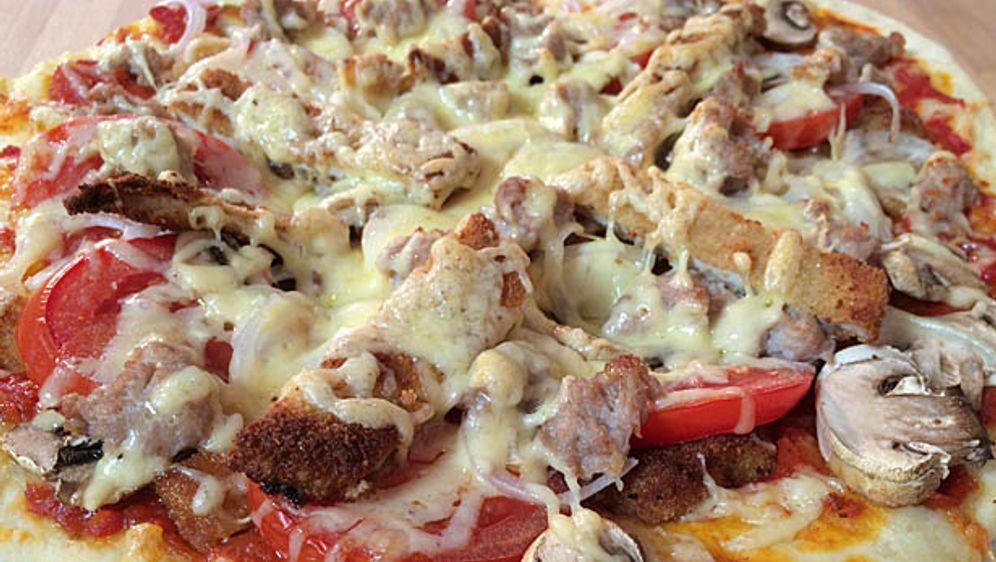 Schnitzel-Pizza