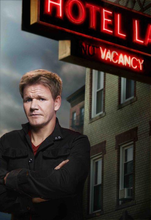 Mit einem Haufen Erfahrung und Knowhow im Gepäck berät Gordon Ramsay Hotels quer durch die USA und verwandelt so manchen widerlichen Schuppen in ein... - Bildquelle: 2012 Fox Broadcasting Co.