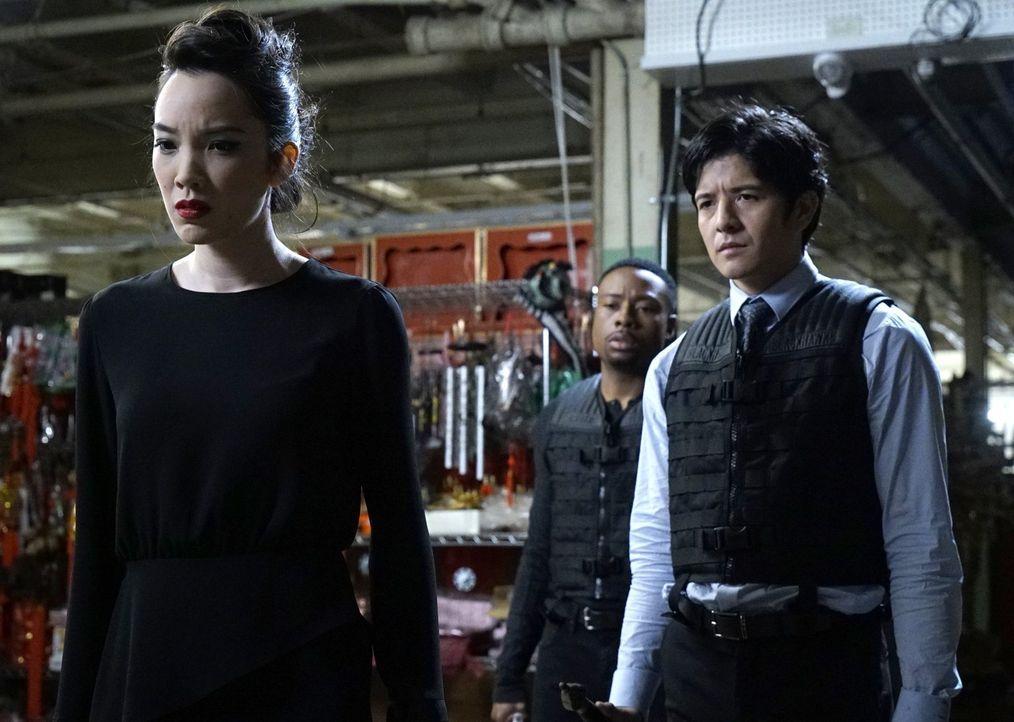 Bei den Ermittlungen in einem neuen Fall, führt die Spur zu Quantou, die scheinbar alle Gangsterbosse L.A.s rekrutiert, um die Macht in der Stadt zu... - Bildquelle: Warner Brothers