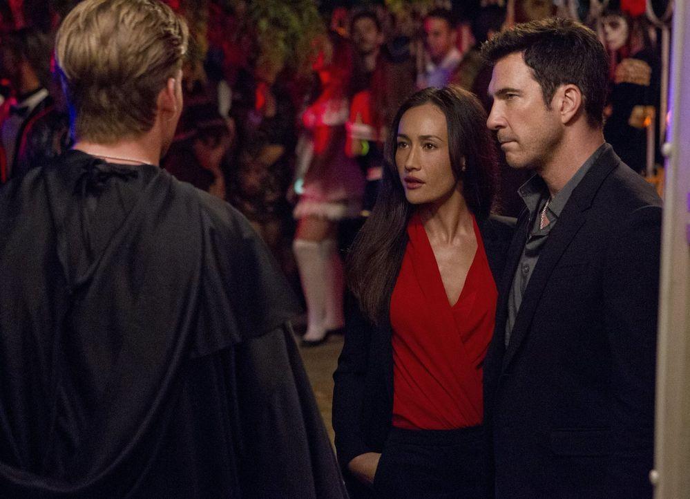 Ist Bobby (Jake Weary, l.) der gesuchte Stalker? Beth (Maggie Q, M.) und Jack (Dylan McDermott, r.) versuchen alles, um dies herauszufinden ... - Bildquelle: Warner Bros. Entertainment, Inc.