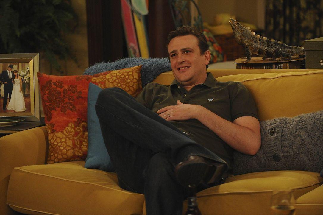 Hat Zweifel, ob er schon dazu bereit ist, ein Kind großzuziehen: Marshall (Jason Segel) ... - Bildquelle: 20th Century Fox International Television