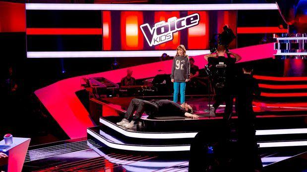 The Voice Kids - The-Voice-Kids-s01e01-Marie-059 - Bildquelle: SAT.1/Richard...