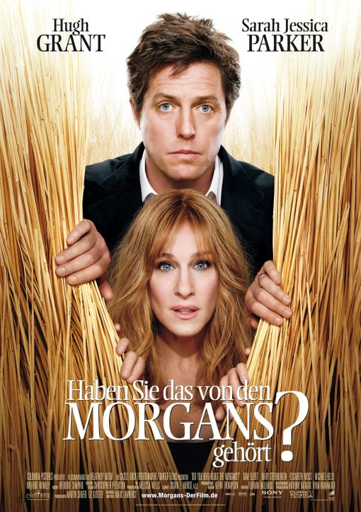 Haben Sie das von den Morgans (Sarah Jessica Parker, unten und Hugh Grant, oben) gehört? - Bildquelle: 2009 Columbia Pictures Industries, Inc. and Beverly Blvd LLC. All Rights Reserved.