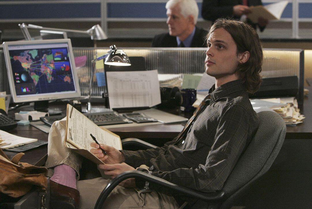 Rettete sich und Hotch, der nur noch an seine Scheidung von Haley denken muss, das Leben: Reid (Matthew Gray Gubler) ... - Bildquelle: Touchstone Television