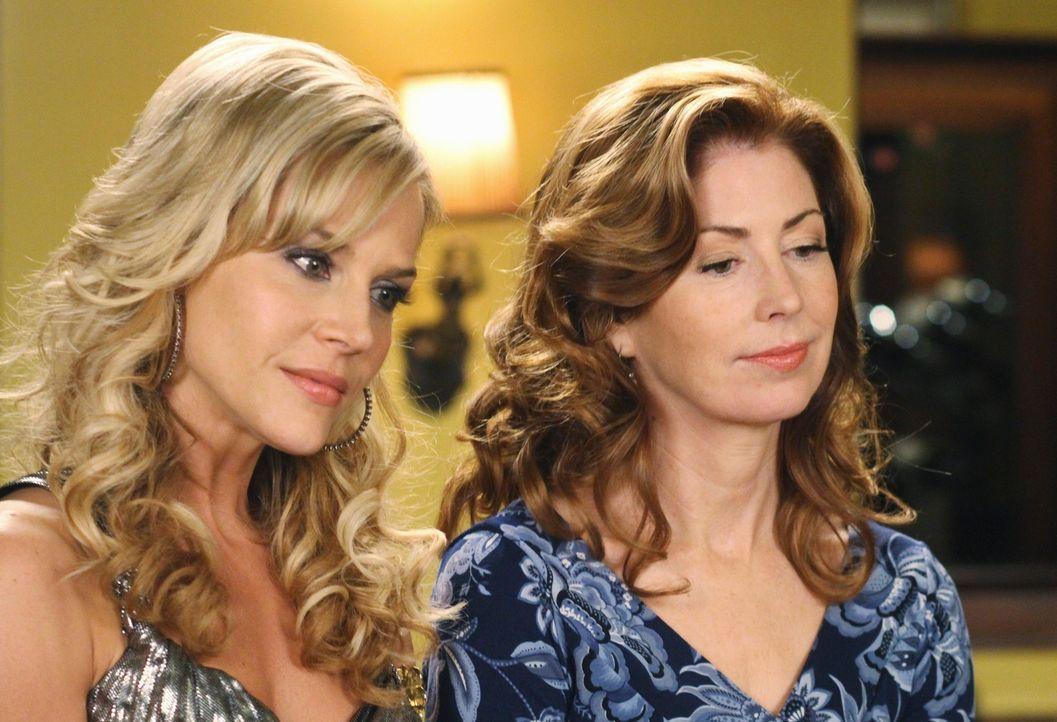 Verstehen sich prächtig: Katherine (Dana Delany, r.) und Robin (Julie Benz, l.) ... - Bildquelle: ABC Studios