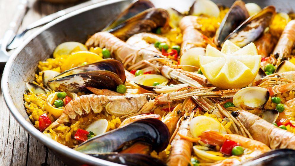 Echte Spanische Paella - Rezept