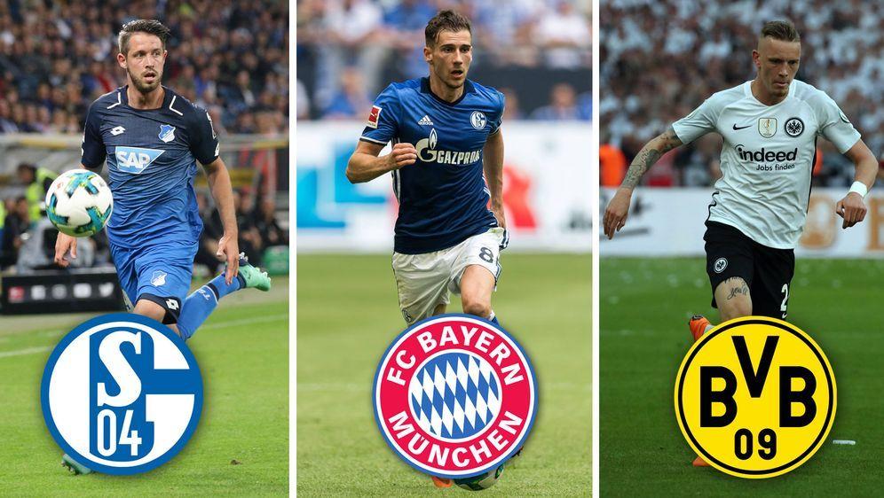 Alle fixen Bundesliga-Transfers im Sommer 2018 - Bildquelle: imago