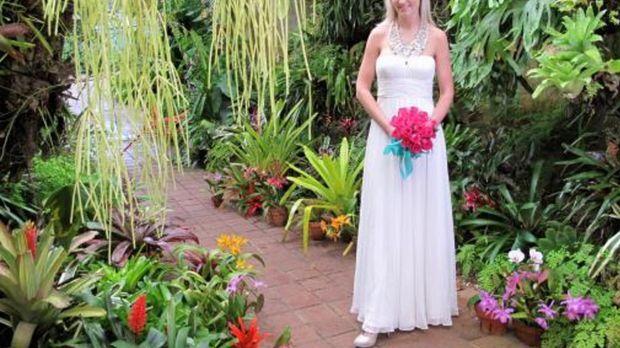 Karen tritt an, im Wettkampf um das schönste Hochzeitsfest ... © 2009 Discove...