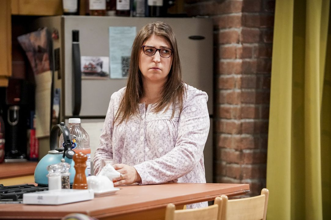 Amy (Mayim Bialik) - Bildquelle: Sonja Flemming 2018 CBS Broadcasting, Inc. All Rights Reserved/Sonja Flemming