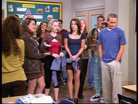 Sabrina - Valerie (Lindsay Sloane, M. r.) hat bei einem Treffen mit Justin ge...
