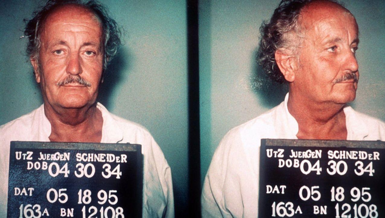 Der betrügerische Baulöwe, Dr. Jürgen Schneider, flieht nach seiner Milliardenpleite nach Amerika, doch 1995 muss er sich in Deutschland vor dem Ger... - Bildquelle: kabel eins