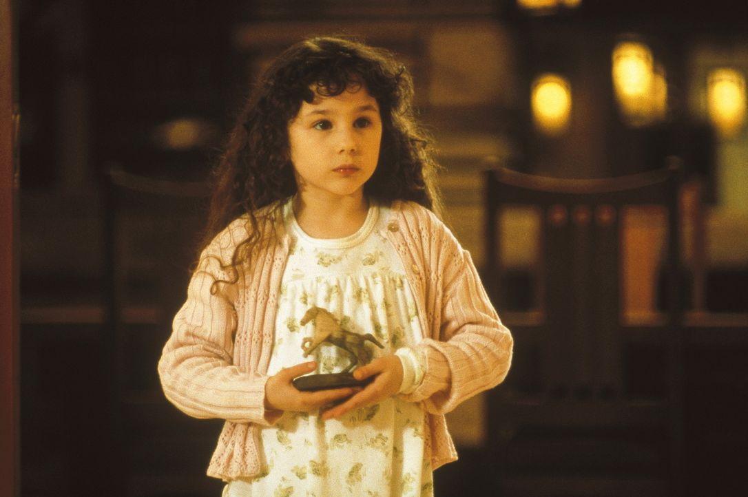 Gewinnt das Herz des gefühlvollen Hausroboters: die süße Little Miss (Hallie Kate Eisenberg) ... - Bildquelle: Columbia TriStar Film GmbH