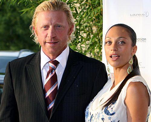 Boris Becker und Lilly Kerssenberg im Juli 2007 bei einer Charitiy Gala in Stuttgart. - Bildquelle: dpa