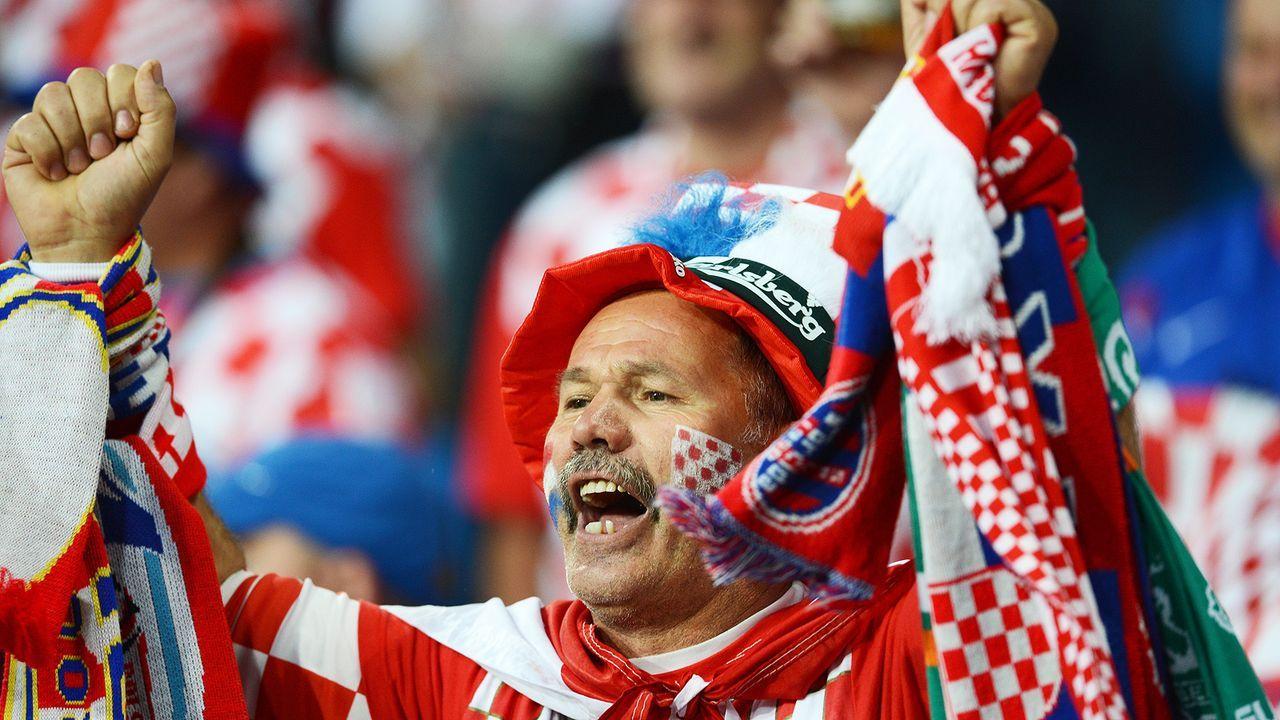 krotien-fan-12-06-10-AFP - Bildquelle: AFP