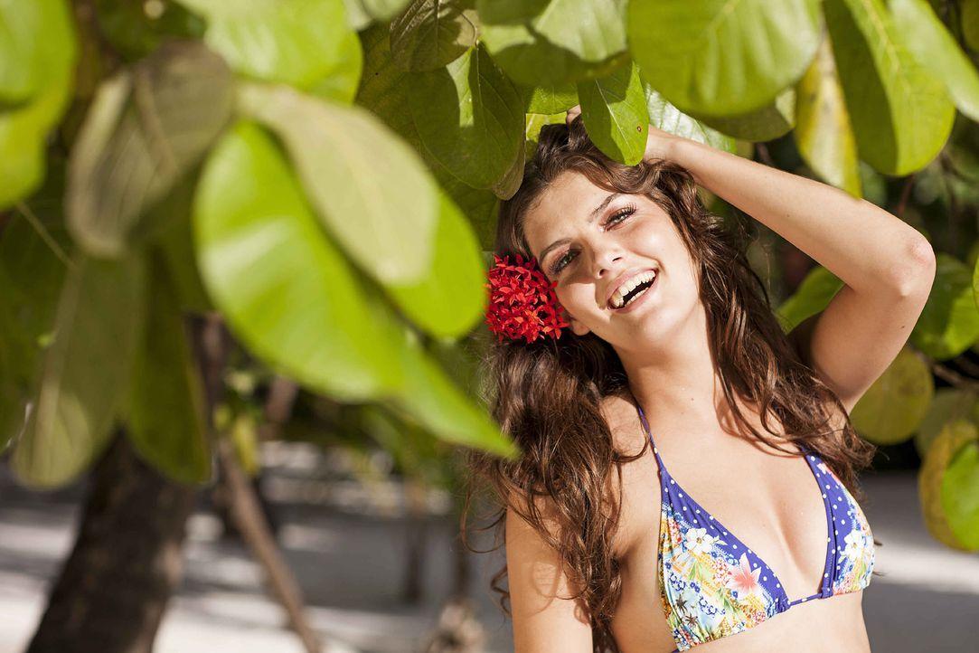 GNTM-Stf10-Epi13-Bikini-Shooting-Malediven-66-Vanessa-ProSieben-Boris-Breuer - Bildquelle: ProSieben/Boris Breuer